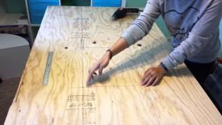 DIY Tufted Headboard
