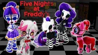 Compilation - FNAF MLP Customs Foxy Circus Baby Ballora Puppet