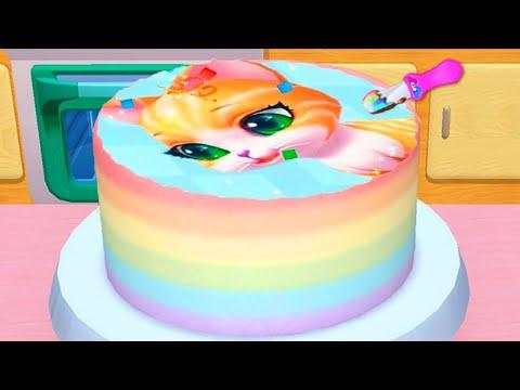 Permainan Memasak Kue Ulang Tahun Lucu Real Cake Maker Permainan Anak Laki Laki Perempuan Youtube