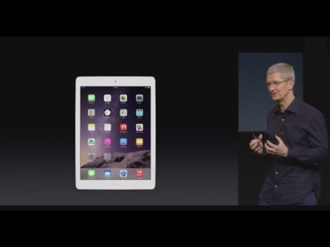 Full Apple Keynote Event iPad Air 2, iPad Mini 3, 5k retina imac October 16, 2014