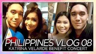 Katrina Velarde Benefit Concert ❤ (Angeline Quinto & More) - PHILIPPINES VLOG 08 [SEASON 2]