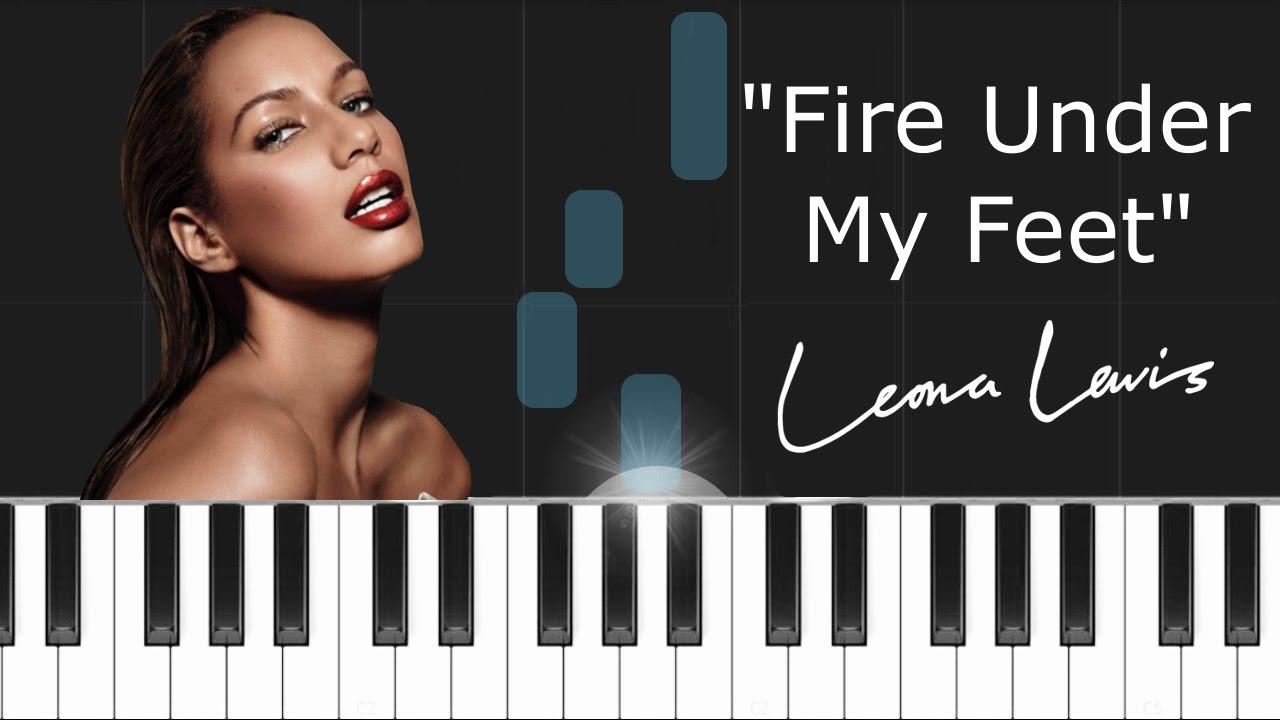 Leona lewis fire under my feet piano tutorial cover how to leona lewis fire under my feet piano tutorial cover how to play synthesia hexwebz Images