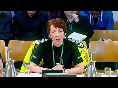 Justice Sub-Committee on Policing: Scottish Parliament: 18th April 2013
