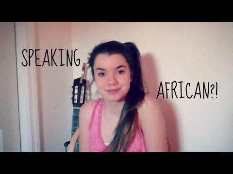 SPEAKING SOUTH AFRICAN?!