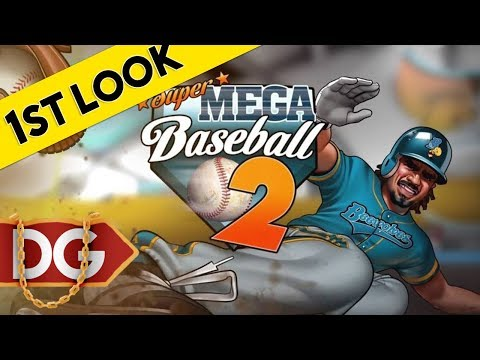 Super Mega Baseball 2 - First Look At Gameplay