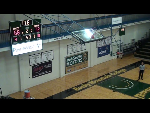 JV MBB - Rocky Mountain College vs Dawson Community College
