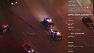 Santa Clarita California Highway Patrol Chase - Nov 16 2017