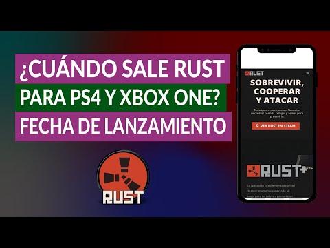 ¿Cuándo sale Rust para Ps4 y Xbox One? Fecha Lanzamiento Rust
