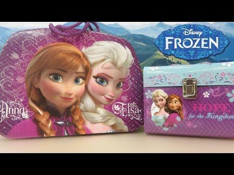 Unboxing 2 Disney Frozen Surprise Gift Boxes!