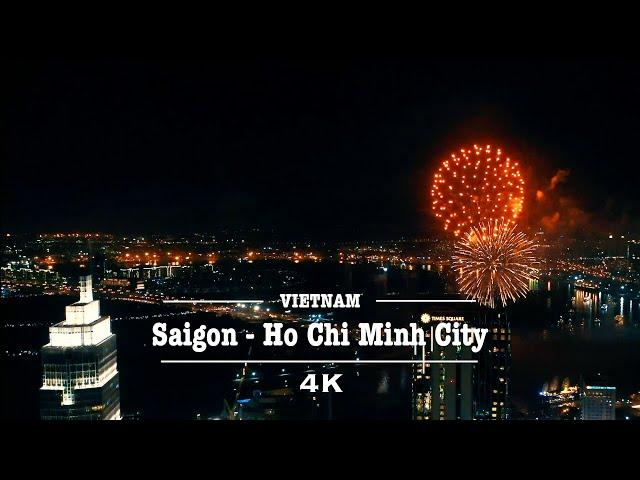 Saigon - Ho Chi Minh City in 2020 - By Drone (4K UHD)