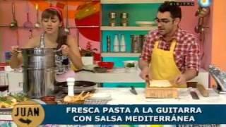 Frescas Pastas A La Guitarra Con Salsa Mediterránea (parte 2)