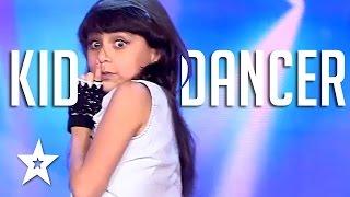 Kid Dancer Arabs Got Talent 2017 - مرحلة تجارب الاداء - مصر - نادين عصام - Nadine Essam