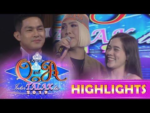 It's Showtime Miss Q and A: Ate Girl admits to Vice that she doesn't like Kuya Escort Ion