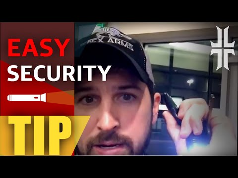 Easy Security Tip & New Movie Review