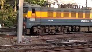 Mumbai- Powerful Electric loco - CAM3 at CST yard- Indian Railways