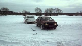 Экстремальное вождение в зимний период !