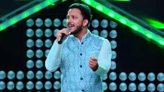 """Pritesh Rasaili - """"Tulsi Aaganmai Ropaulaa"""" - Blind Audition - The Voice of Nepal 2018"""