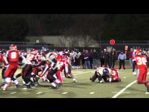 Whittier Christian High School Football Defense against Torrence CIF Game