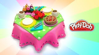 Dolls Food. DIY Play Doh Dinner for LoL Dolls Art and Craft for  Kids Learn Color. Educational Video