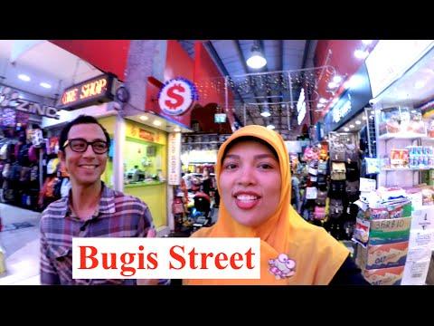 Singapore Vlog: Bugis Street