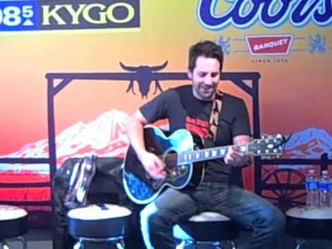 Josh Kelley Live in the KYGO Concert Studio