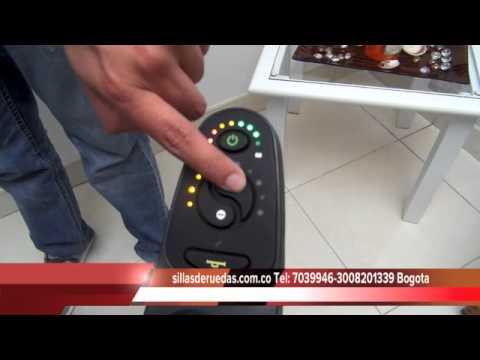 Sillas de ruedas electricas colombia youtube for Silla de ruedas electrica