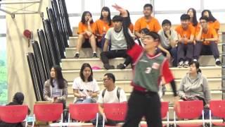 2016/04/25 蕭敬騰.熱身.喜鵲校園籃球賽.南山高中1