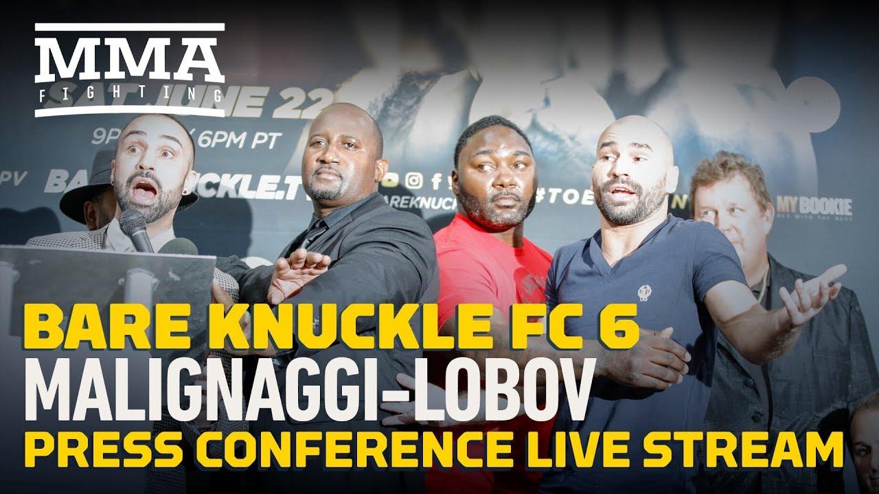 Bare Knuckle Fighting Championship 6: Malignaggi vs. Lobov - How to Stream