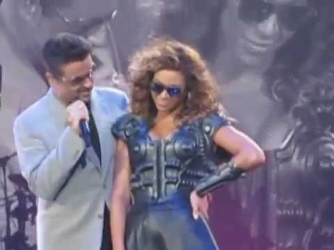 Beyonce and George Michael ' If I were a boy' DIFFERENT CAMERA