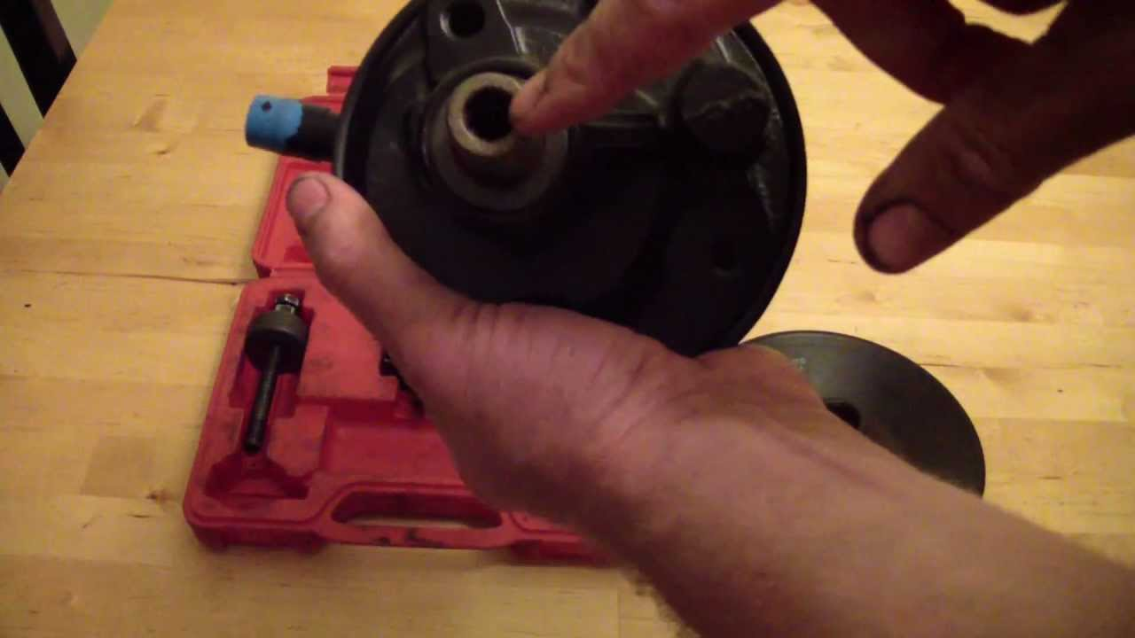 How To Remove A Power Steering Pump Pulley Youtube 92 Oldsmobile Silhouette Wheel Wiring Diagram