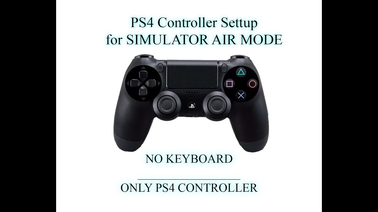 War Thunder    PS4 ONLY Controller Setup for SIMULATOR MODE    [NO KEYBOARD and NO TRACK IR ...