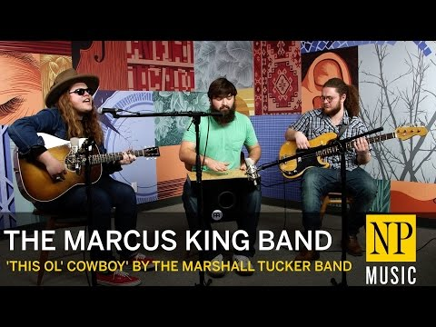 The Marcus King Band cover 'This Ol' Cowboy' by The Marshall Tucker Band in the NP Music studio