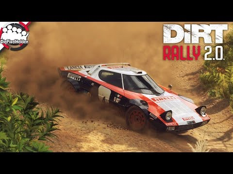 DiRT RALLY 2.0 - Der Lancia Stratos macht die Neuseeland-Rally unsicher - Let's Play DiRT Rally 2.0