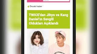 JİHYO AND  KANG DANIEL (DANYO•REAL)