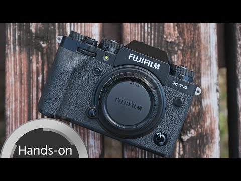 FUJIFILM X T4 Hands on review (Video Functionality)