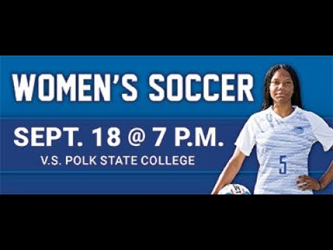 DSC Women's Soccer vs. Polk State College 9/18