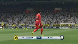 Borussia Dortmund vs Inter - Pes 2017 Türkçe Spiker