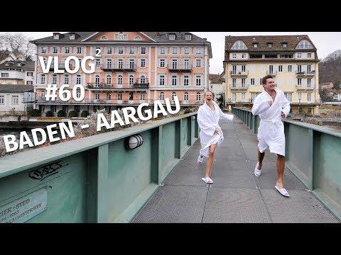 Im BADEMANTEL durch BADEN (AG) | VLOG² #60 Schweiz, Baden Aargau