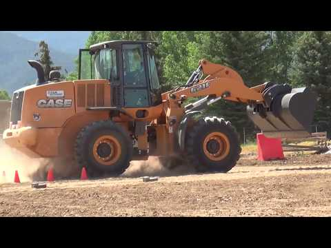 Heavy Equipment Rodeo In Taos, New Mexico