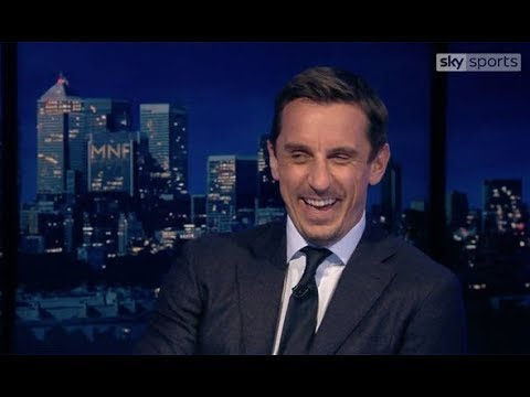 Sky Sports pundit Gary Neville r ips into Jamie Carragher over hilarious Theo Walcott claim