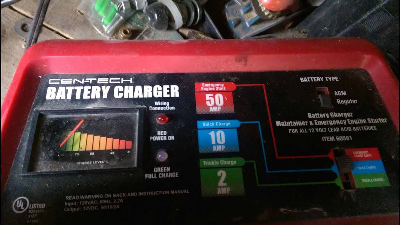 harbor freight battery charger repair [ 1280 x 720 Pixel ]