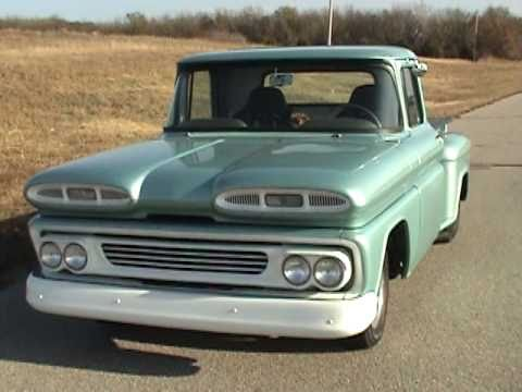 60s Chevy Truck >> 1960 Chevrolet Pro Street Truck at Pride Autoplaza - YouTube