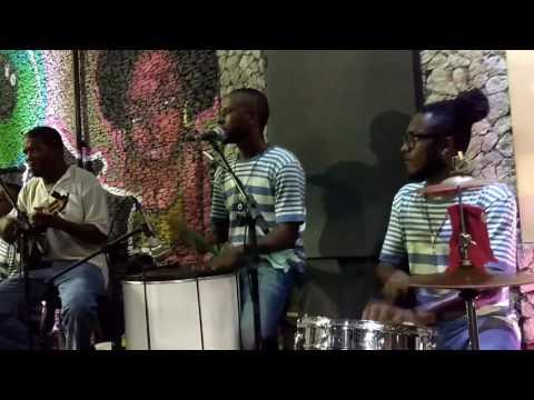 Amazing Samba group Pelourinho Salvador Bahia Brazil