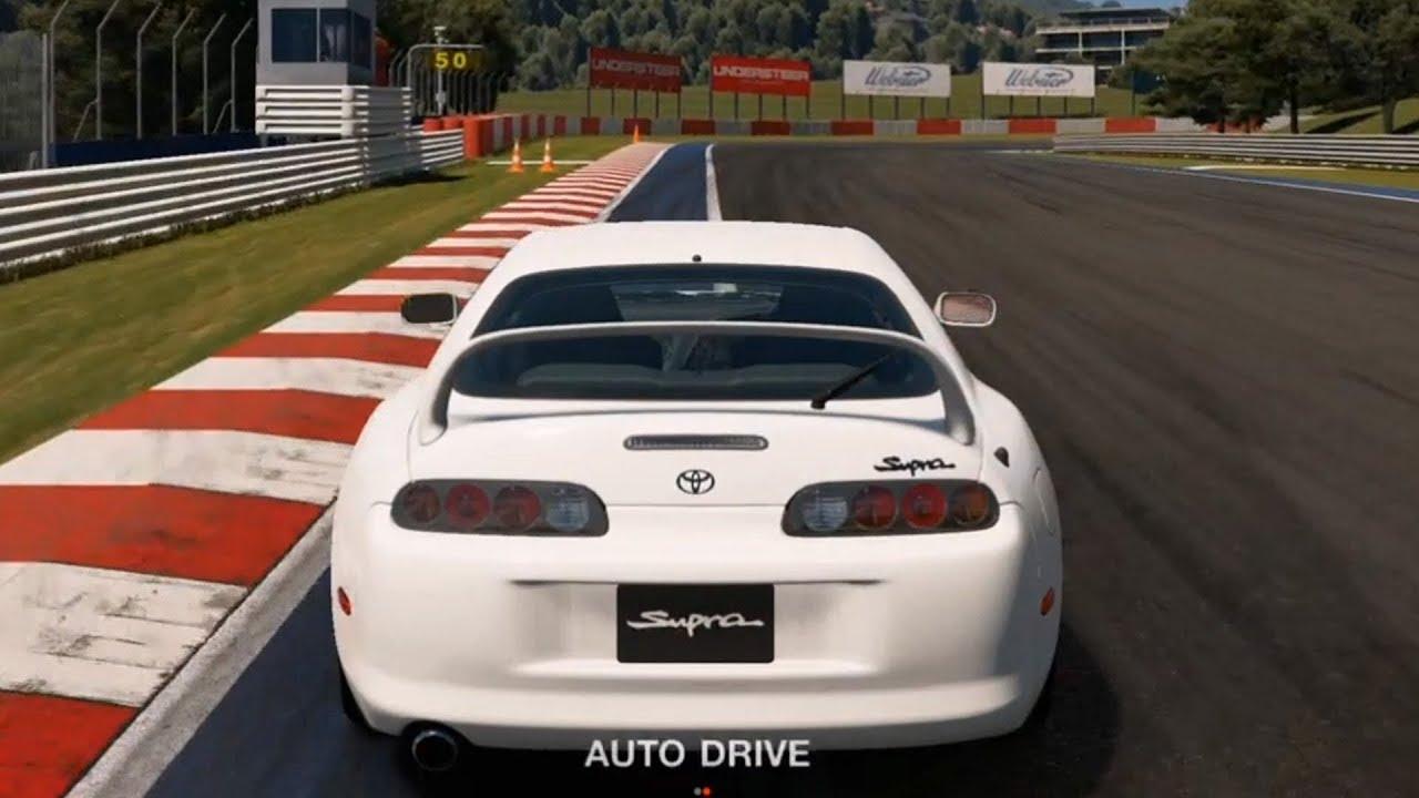 gran turismo sport - toyota supra rz 1997 - test drive gameplay