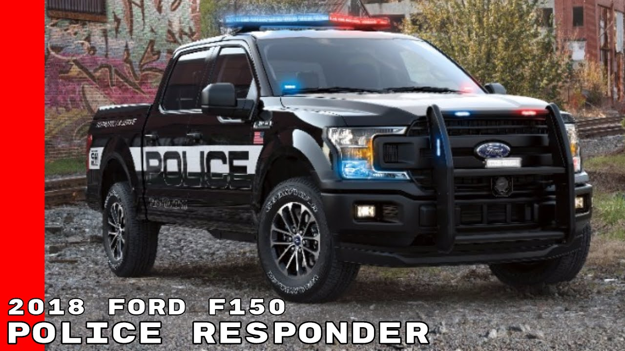 2018 Ford F150 Police Responder - YouTube