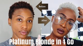 DIY AT HOME | HOW TO GET FROM DARK BROWN TO PLATINUM BLONDE | RECOLOURING MY HAIR AGAIN
