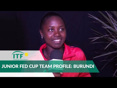 Junior Fed Cup Team Profile: Burundi