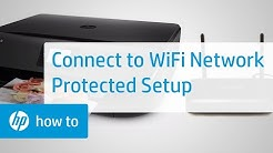 How To Connect an HP Printer to a Wireless Network Using Wi-Fi Protected Setup | HP Printers | HP