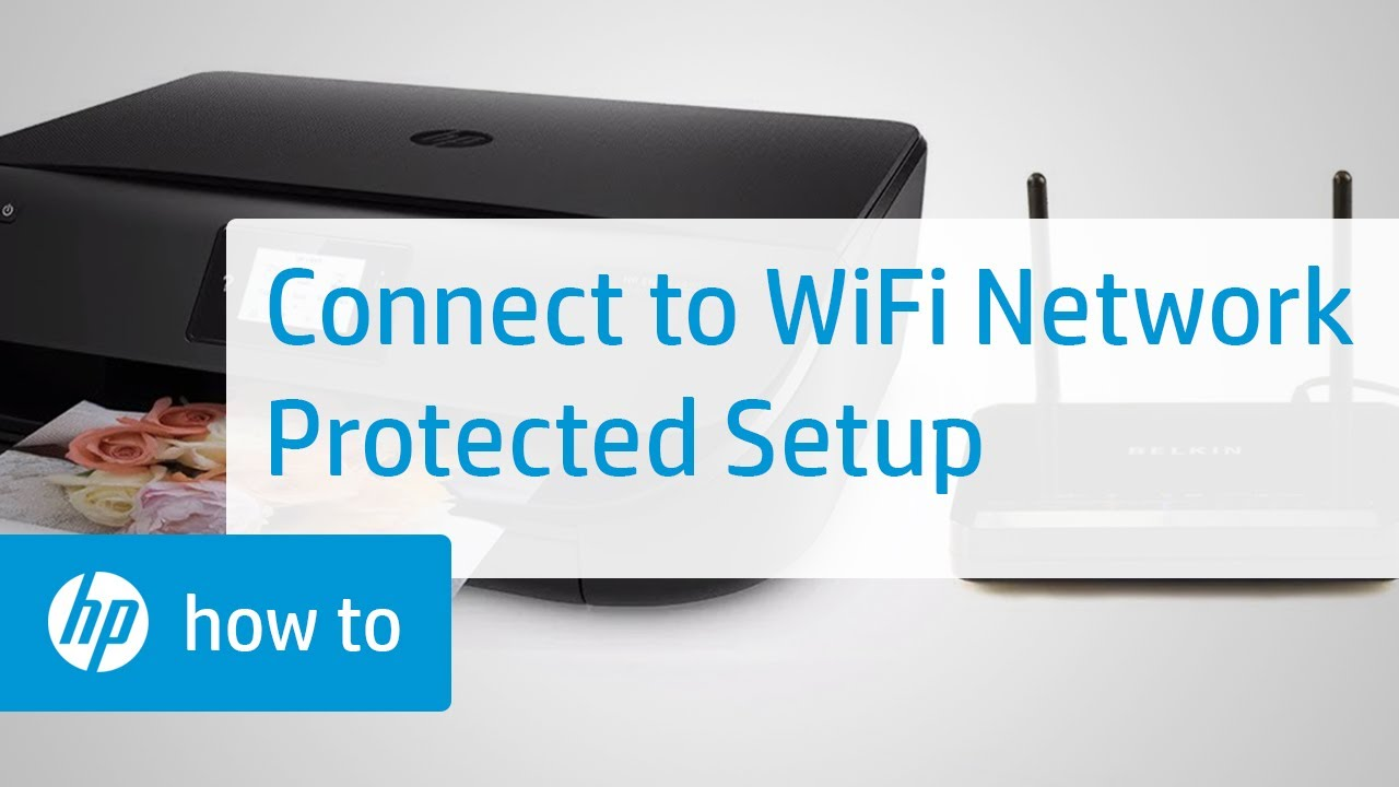 How To Connect An Hp Printer To A Wireless Network Using