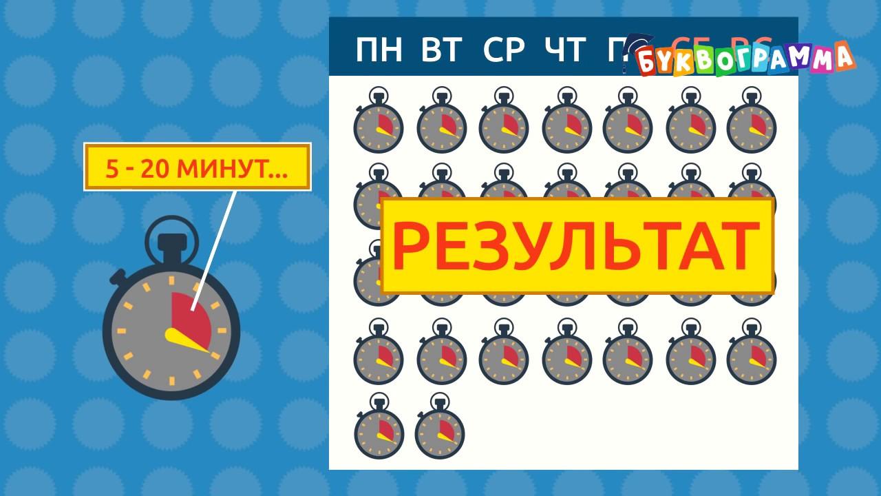Курс для детей   Буквограмма  Игровая развивающая методика